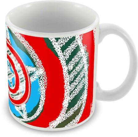 Marvel Classic Captain America Ceramic Mug