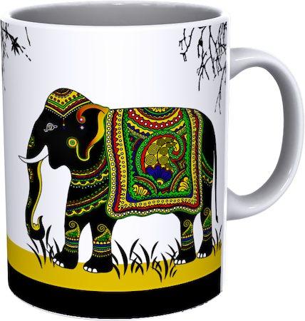 Kolorobia Elephant Designer Mug