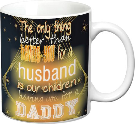 Prithish Better Than Having You For A Husband White Mug