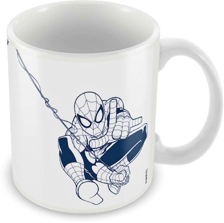 Marvel Spider-Man Web Fly Ceramic Mug