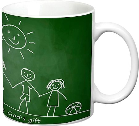 Prithish Friends Are God's Gift White Mug