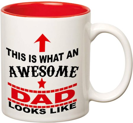 Prithish Awesome Dad Double Color Mug