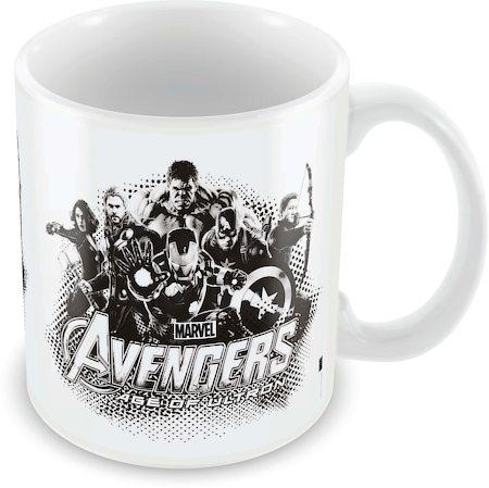 Marvel Avengers Sketch Ceramic Mug