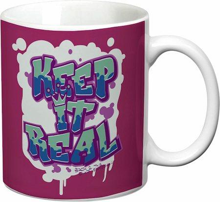 Prithish Keep It Real White Mug