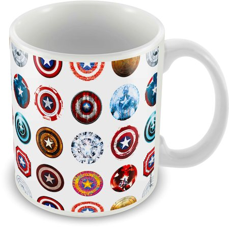 Marvel First Avenger Captain America Ceramic Mug