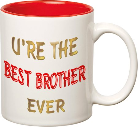 Prithish Best Brother Ever Double Color Mug