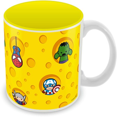 Marvel Kawaii Art Peep Ceramic Mug