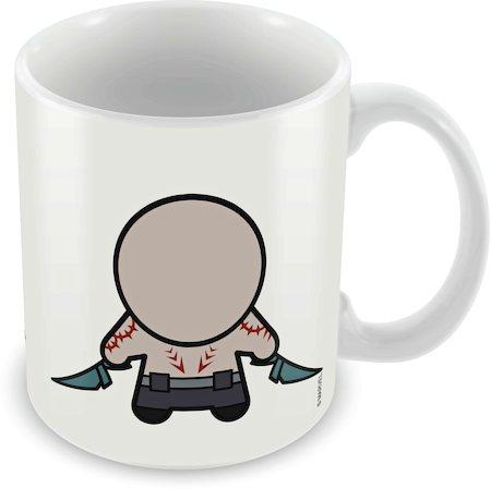 Marvel Drax - Kawaii Art Ceramic Mug