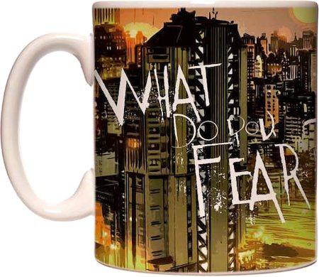 Warner Brothers Batman - What Do You Fear Mug
