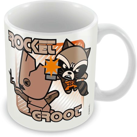 Marvel Rocket Groot - Kawaii Art Ceramic Mug