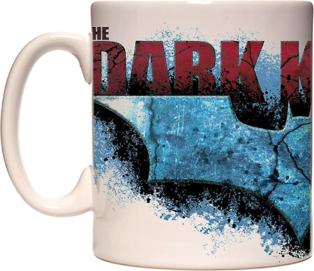 Warner Brothers Dark knight Rises Movie Logo Mug