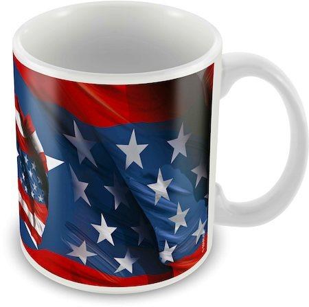 Marvel Captain America 75 Years New Ceramic Mug