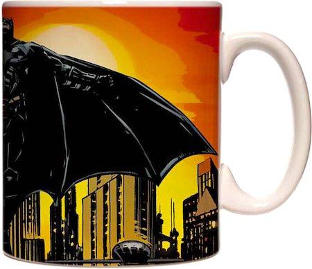 Warner Brothers Batman In Gotham City Mug