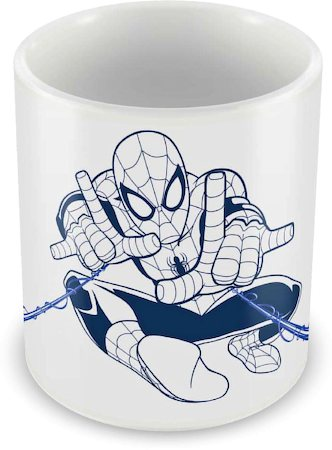 Marvel Spider-Man Action Spidey Ceramic Mug