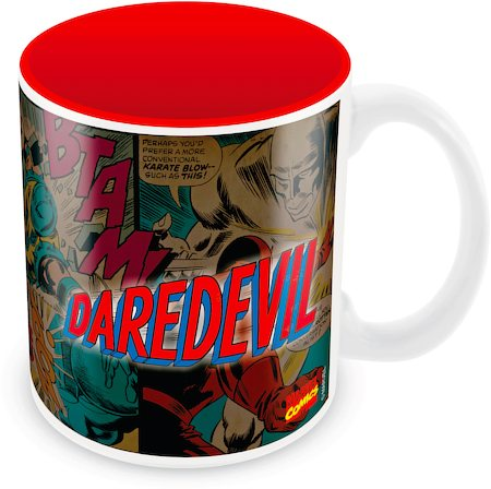 Marvel Comics Daredevil Red Ceramic Mug