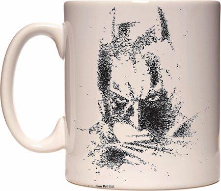 Warner Brothers Dark Knight Batman Sketch Mug
