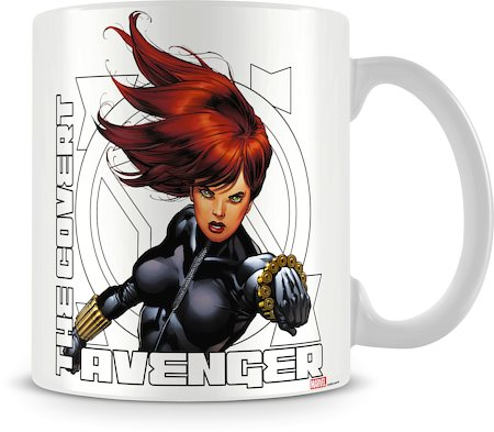 Marvel The Covert Avenger Ceramic Mug