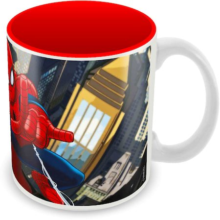 Marvel Spider-Man Charging Ceramic Mug