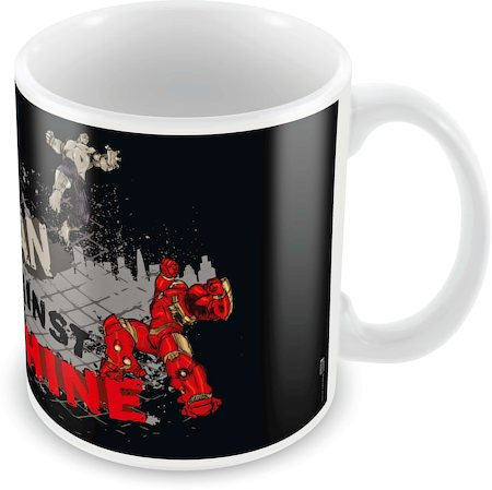 Marvel Mean Against Machine Ceramic Mug