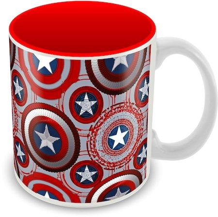 Marvel Avenger - Captain America Ceramic Mug