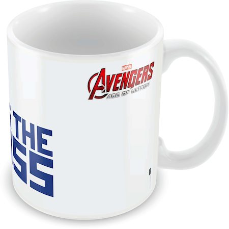 Marvel He's the Boss - Avengers Ceramic Mug