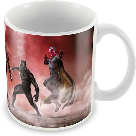 Marvel Civil War Team Ceramic Mug