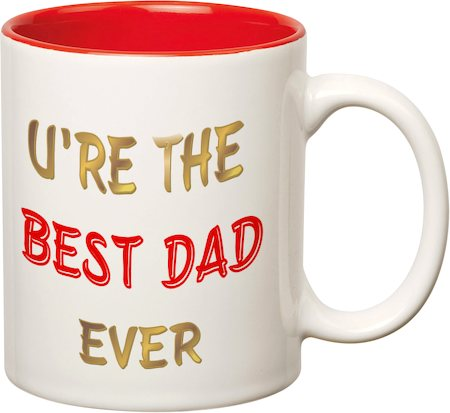 Prithish Ur The Best Dad Ever Double Color Mug
