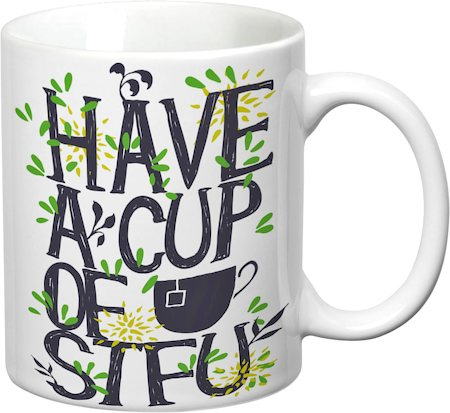 Prithish A Cup Of STFU White Mug