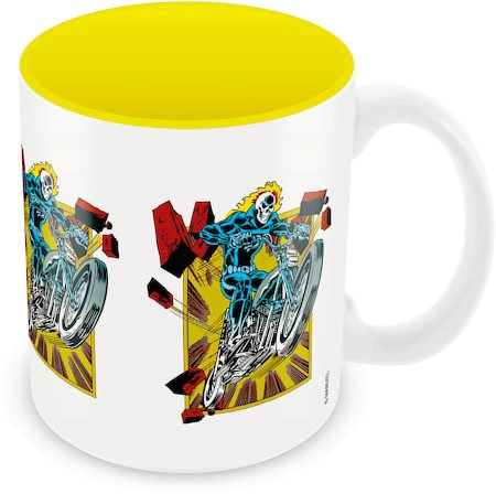 Marvel Comics Ghost Rider Action Ceramic Mug