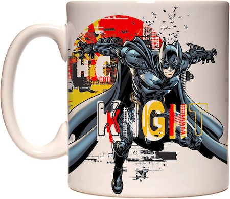 Warner Brothers Batman Gotham City Mug