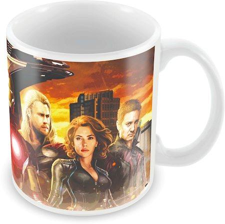 Marvel Avengers All Ceramic Mug