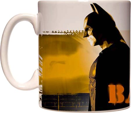 Warner Brothers Batman Begins Mug