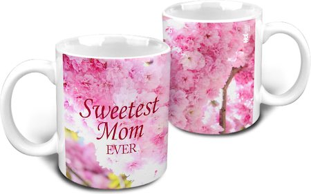 Hot Muggs Sweetest Mom Ever Mug