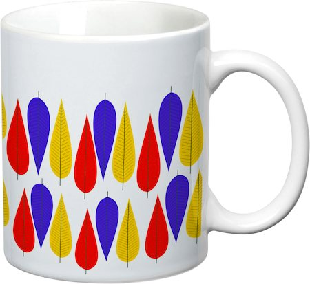Prithish Abstract Design 10 White Mug