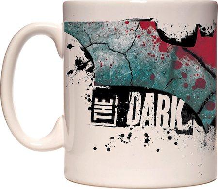 Warner Brothers Dark Knight Gothic Logo Mug