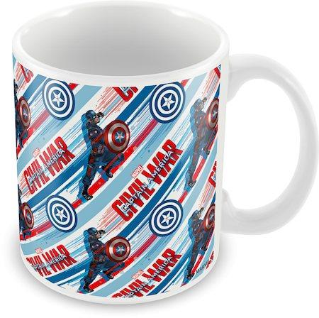 Marvel Civil War - Captain Action Ceramic Mug