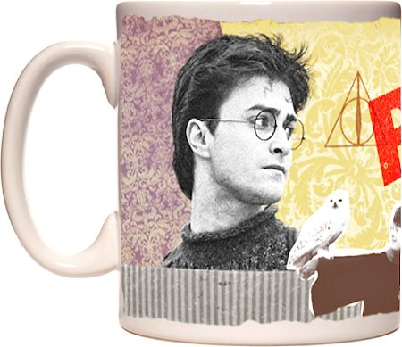 Warner Brothers Harry Potter and The Deathly Hallows - Face Mug