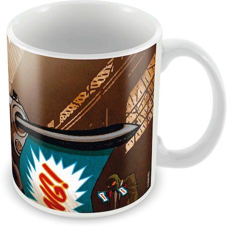 Marvel Deadpool Action Ceramic Mug