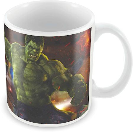 Marvel Hawkeye - Hulk Avengers Ceramic Mug