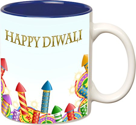 Prithish Diwali Design 7 Double Color Mug