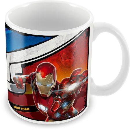 Marvel Civil War - Captain Vs Iron Man Ceramic Mug