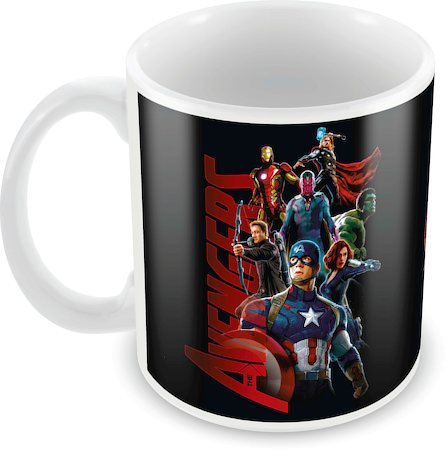 Marvel Avengers Cast All Ceramic Mug