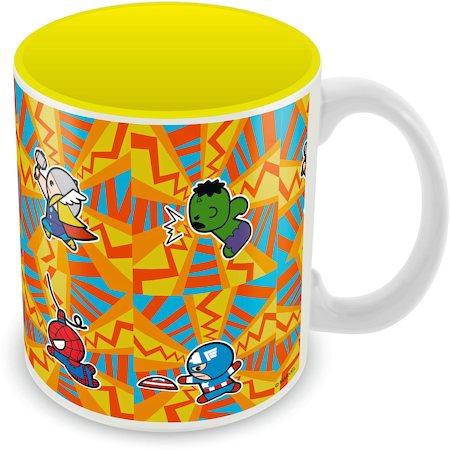 Marvel Avengers All - Kawaii Ceramic Mug