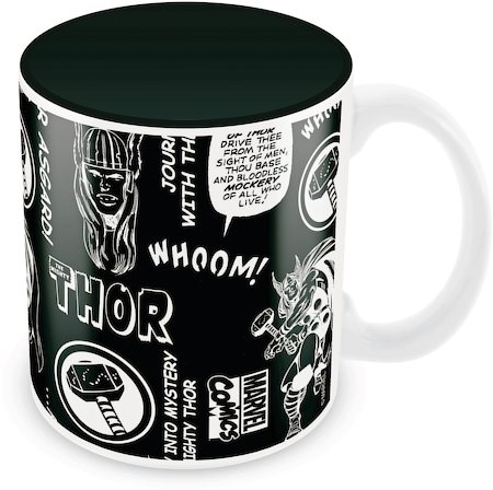 Marvel Comics Thor Asgard Ceramic Mug