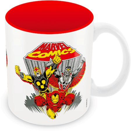 Marvel Comics Team Ceramic Mug