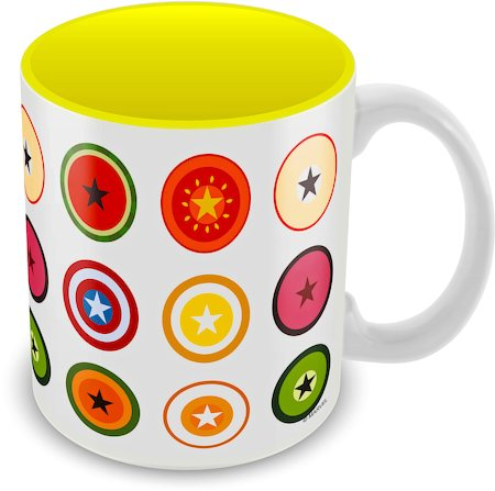 Marvel Captain America - 75 Years Avenger Ceramic Mug