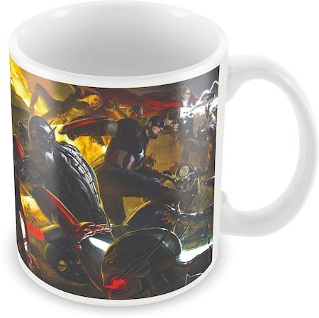 Marvel Iron Man Vs Ultron Ceramic Mug