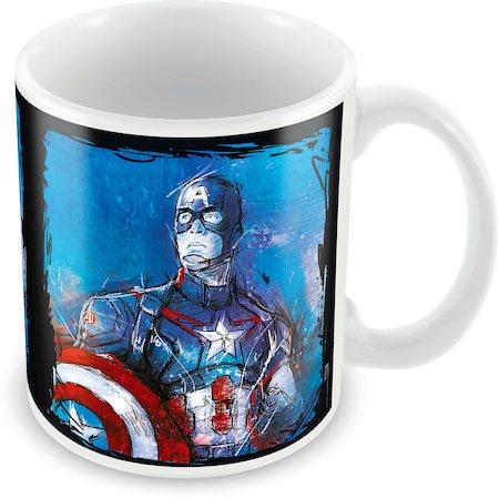 Marvel Captain America Graphic Ceramic Mug
