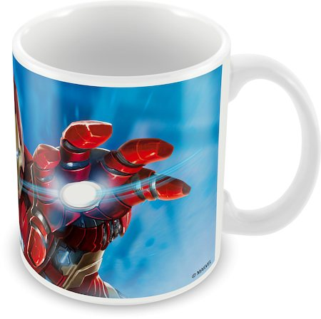 Marvel Civil War - Iron Man Action Ceramic Mug