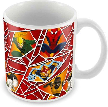 Marvel Spider-Man All Cast Ceramic Mug